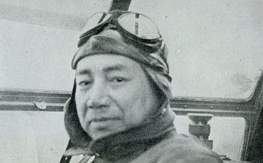 神風特攻隊生みの親、海軍軍人大西瀧治郎中将の珍しい一行書、昭和史好きな私の大事な逸品であります。