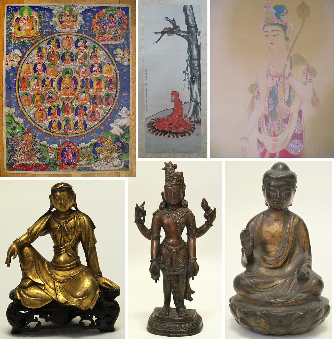 仏教美術品の買取りについて│美術品買取り専門店:夏樹美術